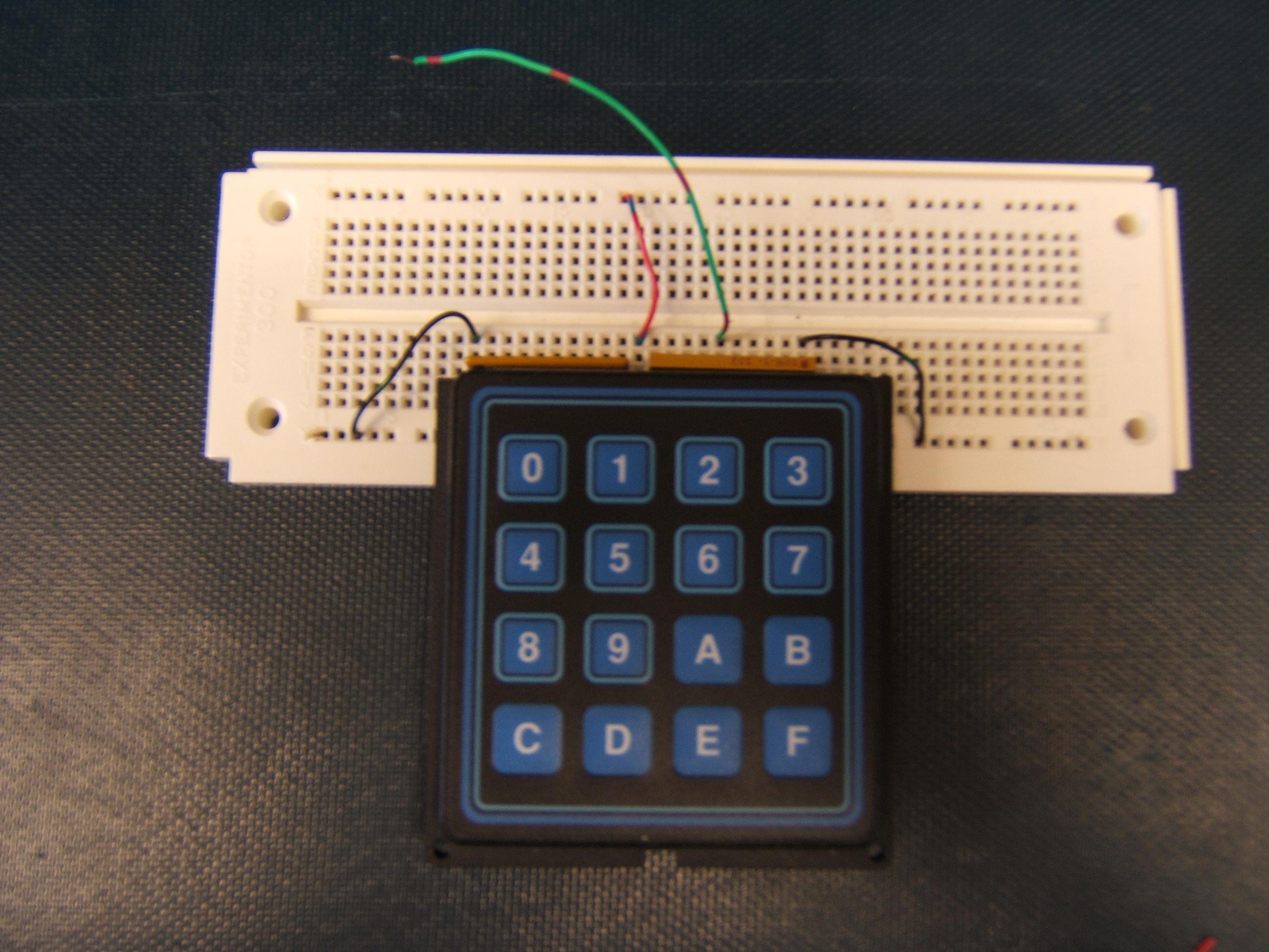 Hexadecimal Keypads