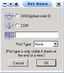 net label window