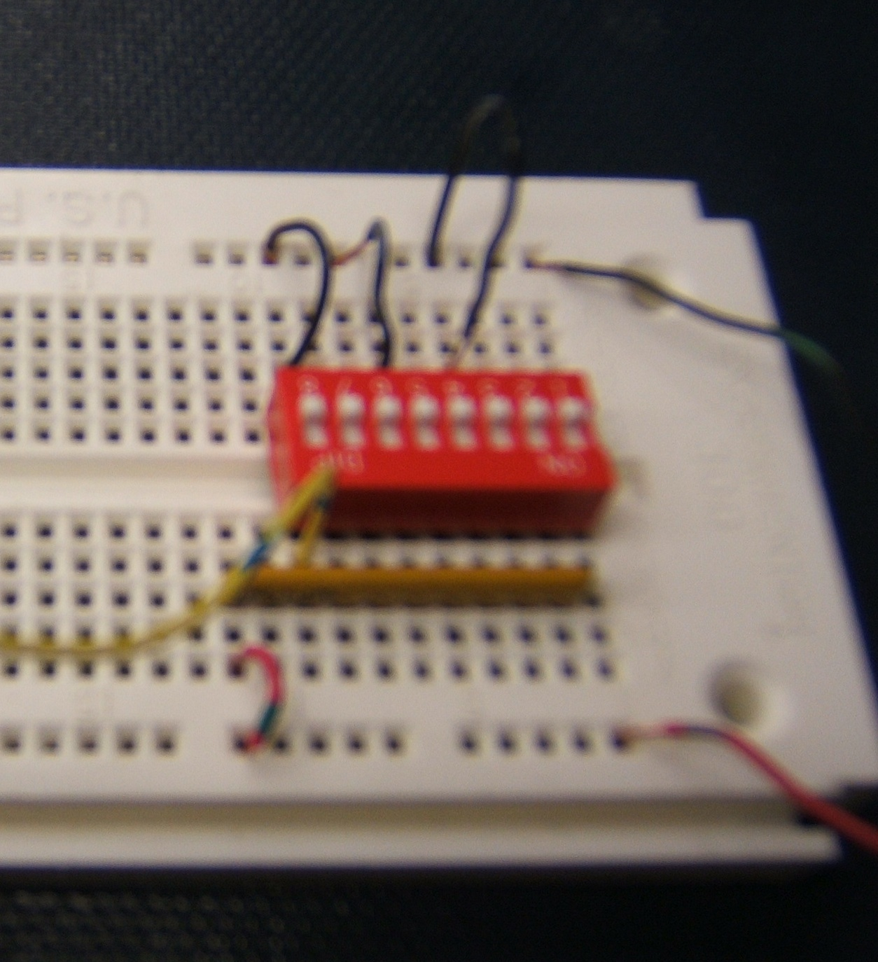 Pc Cp120 Digital I O Input Output Circuitry For 7400 Test Dip Switch Connection