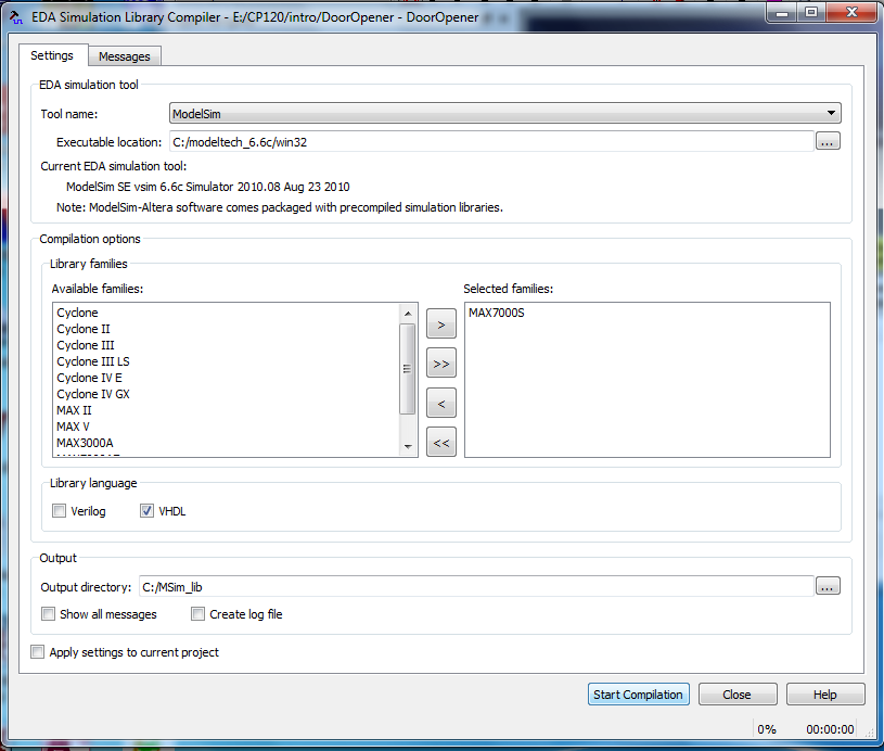 Introduction to Quartus II Software (with Test Benches)