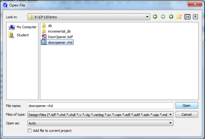 Introduction to Quartus II Software (using the ModelSim Vector