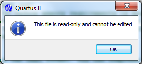 file read-only